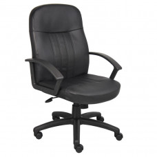 Boss Executive Leather Budget Chair
