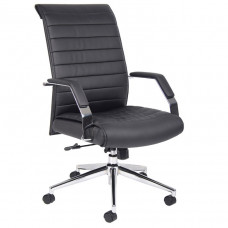 Boss Executive High Back Ribbed Chair