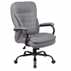 Boss Heavy Duty Double Plush CaressoftPlus™ Chair-400 Lbs.